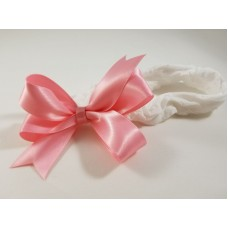 Baby Headband Satin Bow